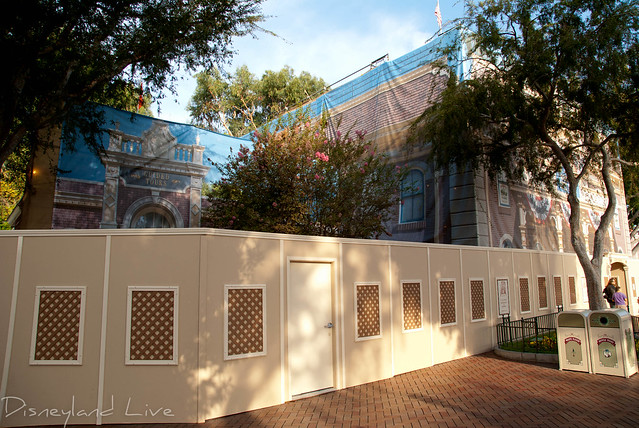 Disneyland City Hall, Fire Station Exterior Refurbishment