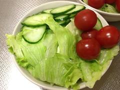 朝食サラダ (2012/9/6)