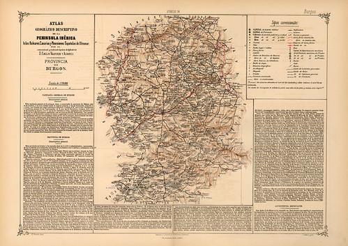 016-Provincia de Burgos-Atlas geográfico descriptivo de la Península Ibérica-Emilio Valverde-1880