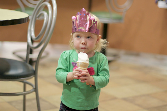 Lucy's Birthday Adventure - McDonald's Ice Cream