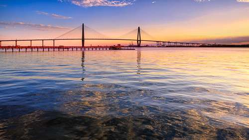 river southcarolina charleston cooperriver mtpleasant gnd arthurraveneljrbridge singhray tse24mmf35lii