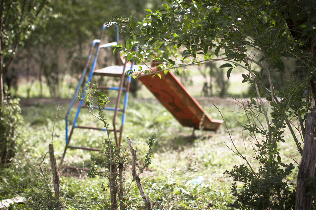 abandoned playground in Basilicata, Italy1