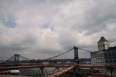 Crossing Brooklyn Bridge