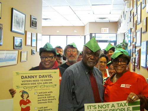 Chicago - the newest Robin Hood - Rep. Danny Davis