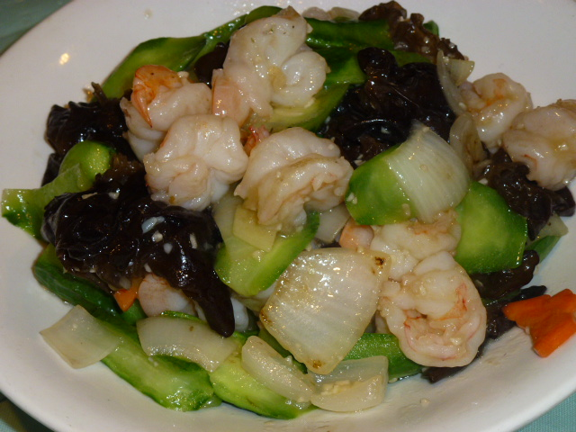 Stir Fry Seafood