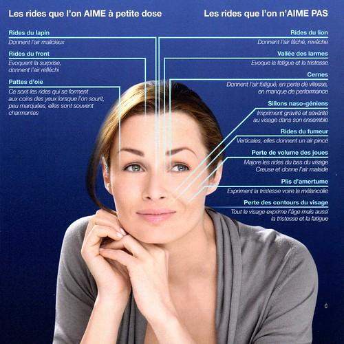 rajeunir visage: injection rides acide hyaluronique