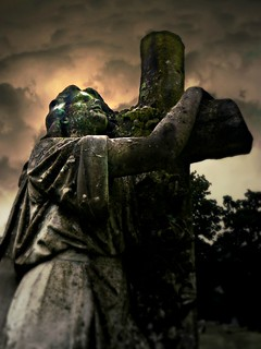 Gazing Towards the Heavens:  Old Cherry Hill Cemetery, Greenville, North Carolina