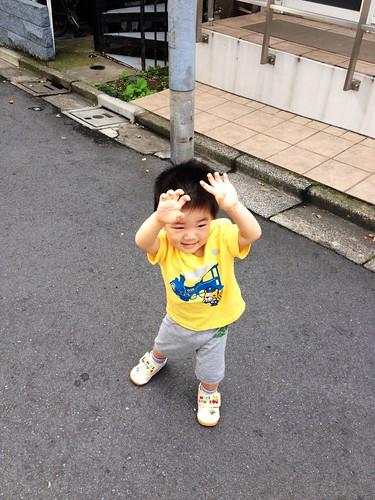 朝散歩 (2012/10/4)