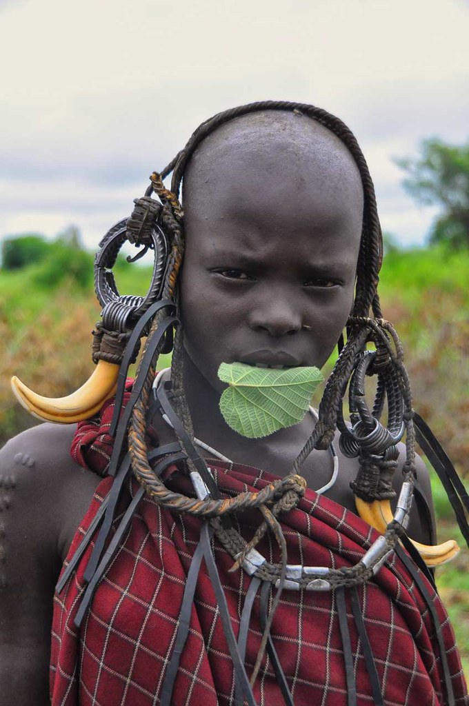 Mursi Tribe, Ethiopia — by Rod Waddington