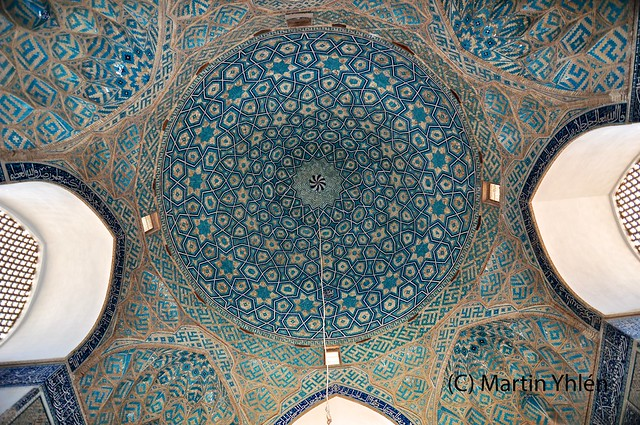 Islamic Tile Work : Iran yazd masjed e jameh islamic tile work flickr