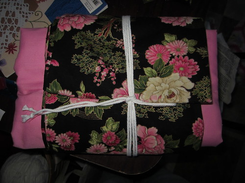 Pink and Black Yukata and Obi