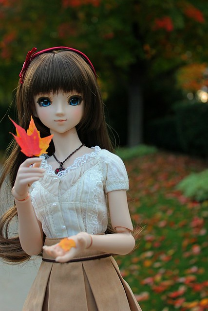 Annalise in Autumn
