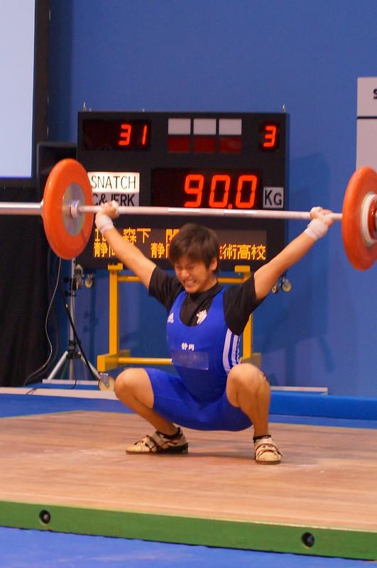 【岐阜国体】 少年 69kg級 スナッチ
