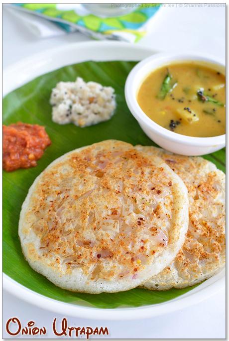 Onion Uttapam - Onion Uthappam Recipe | Breakfast Recipes ...