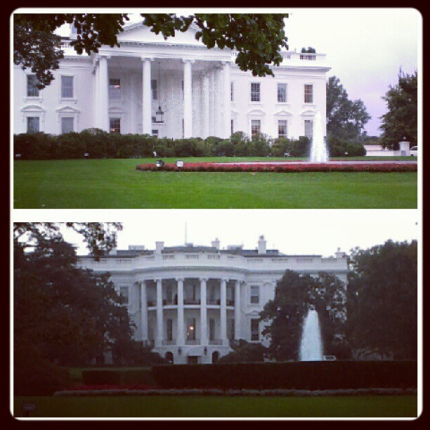 White house front and back :) | Flickr - Photo Sharing!