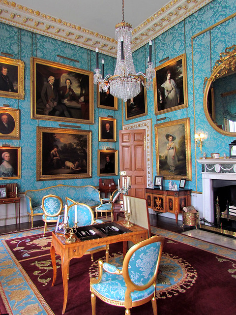 Castle Drawing Room: Castle Howard Interior