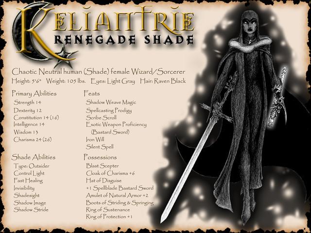 Keliantrie the Shade