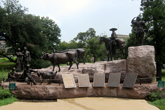 Austin Texas State Capitol Tejano Monument Flickr