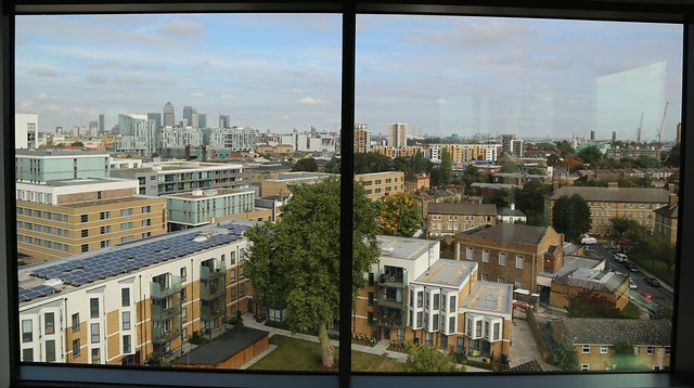 Mercure Greenwich - Penthouse floor to ceiling windows