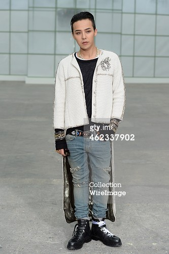 G-Dragon Chanel Show Paris - Press Photos - Getty Wire - 20150127 - 4