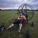 Lizza Driving Paramotor Quad