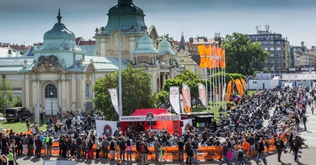 Vyhlášení vítězů soutěže z Prague Harley Days