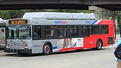 WMATA Metrobus 2002 New Flyer C40LF #2428