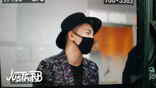 Big Bang - Incheon Airport - 21mar2015 - Tae Yang - Just_for_BB - 03