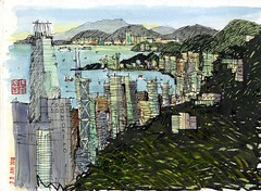 Hong Kong from Peak 2