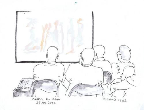 2012-08-28 Cinema No Largo - Luis Antero - Curtas Sobre Agricultura (aquecimento)
