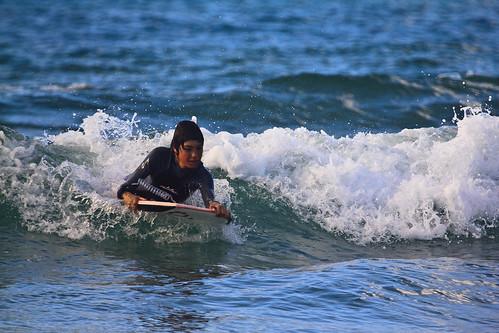 Jornada de entrenamiento bodyboard con los deportistas de la Academia Surf&Rock
