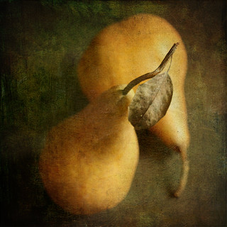 ..and a golden pear
