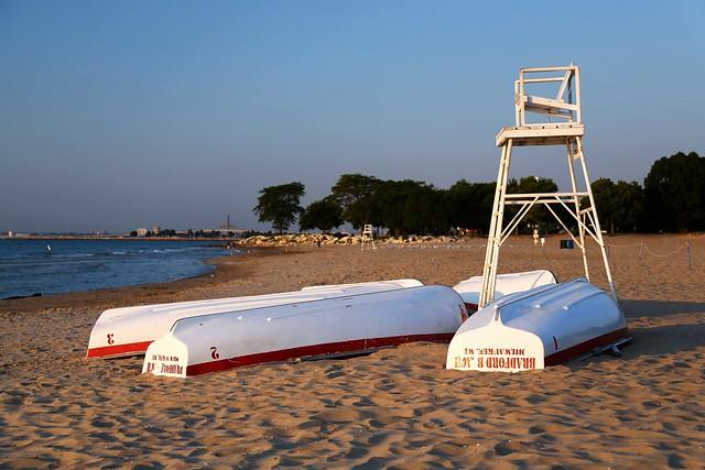 Morning at Bradford Beach