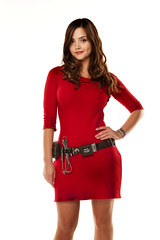 day dress, neck, textile, clothing, abdomen, red, sleeve, cocktail dress, maroon, photo shoot, human body, dress,