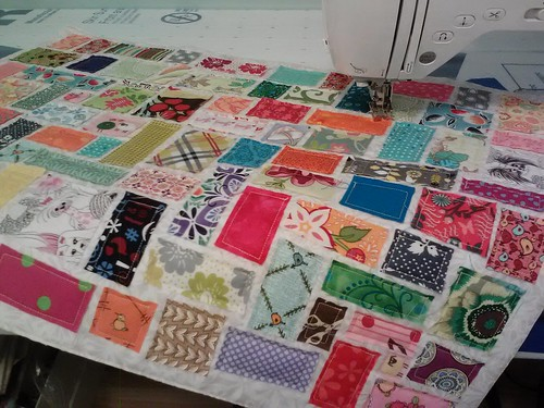 ticker tape quilt