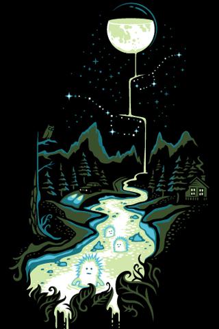 star men in moon's milk