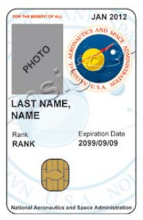 NASA ID Badge - Pics about space