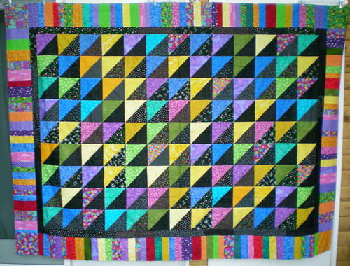 Wanda 70x94 bright and black hst top