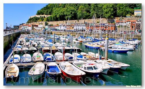 Marina em San Sebastian by VRfoto