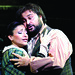 Roberto Aronica as Rodolfo and Cristina Gallardo-Domas as Mimi in La boheme © Catherine Ashmore/ROH