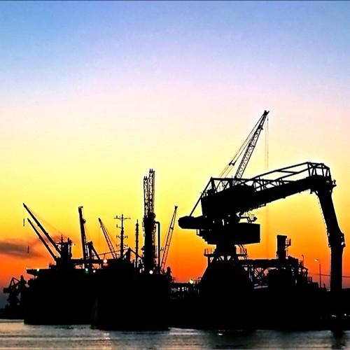 9/7 @釧路西港。無加工。#mysky #sunset #ゆうやけこやけ部