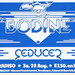 Bodine concert poster 28 August 1982