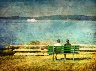 """ Retired one legged couple dream of adventure """