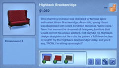 Highback Brackenridge