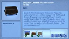 Sheppult Dresser by Aleckzandor Pleppe