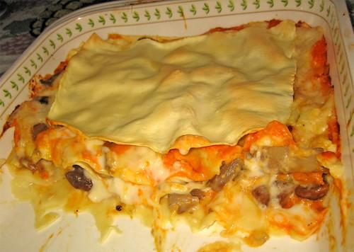 Lasagne con zucca e funghi by fugzu