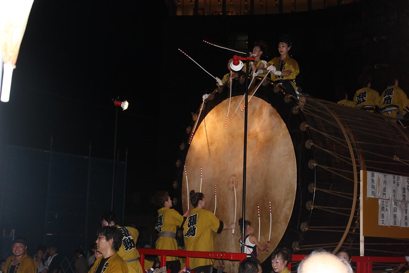 大きな太鼓