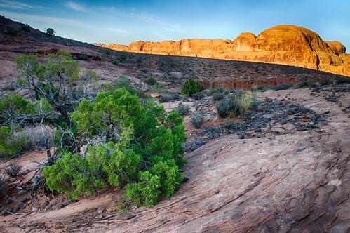 sunrise geotagged utah hike trail moab hdr juniper 3xp hdrefexpro2