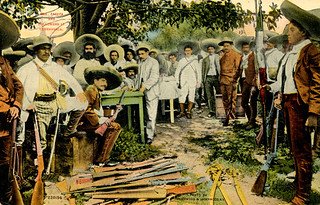 Cuernavaca - Mexican Revolutionaries (1911 Postcard)