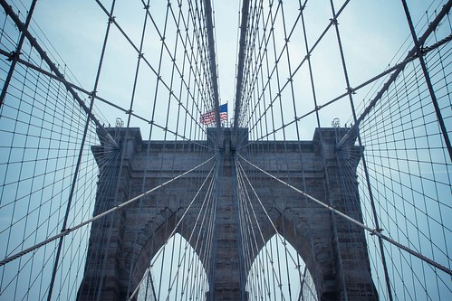 New York City, Brooklyn-Bridge ⨳ 1